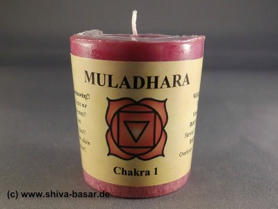 Duftkerze Chakra