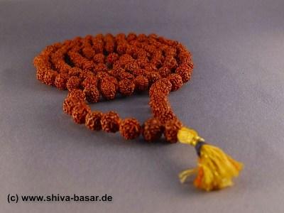 Mala Rudraksha Gebetskette 6mm