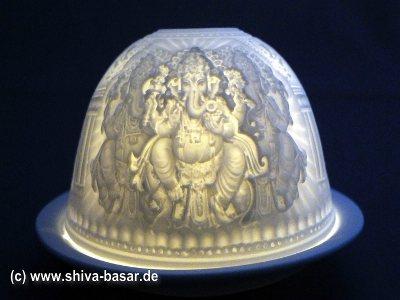 Teelichthalter Ganesha