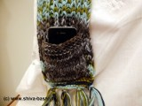 Nepal Wollmütze Schal detail